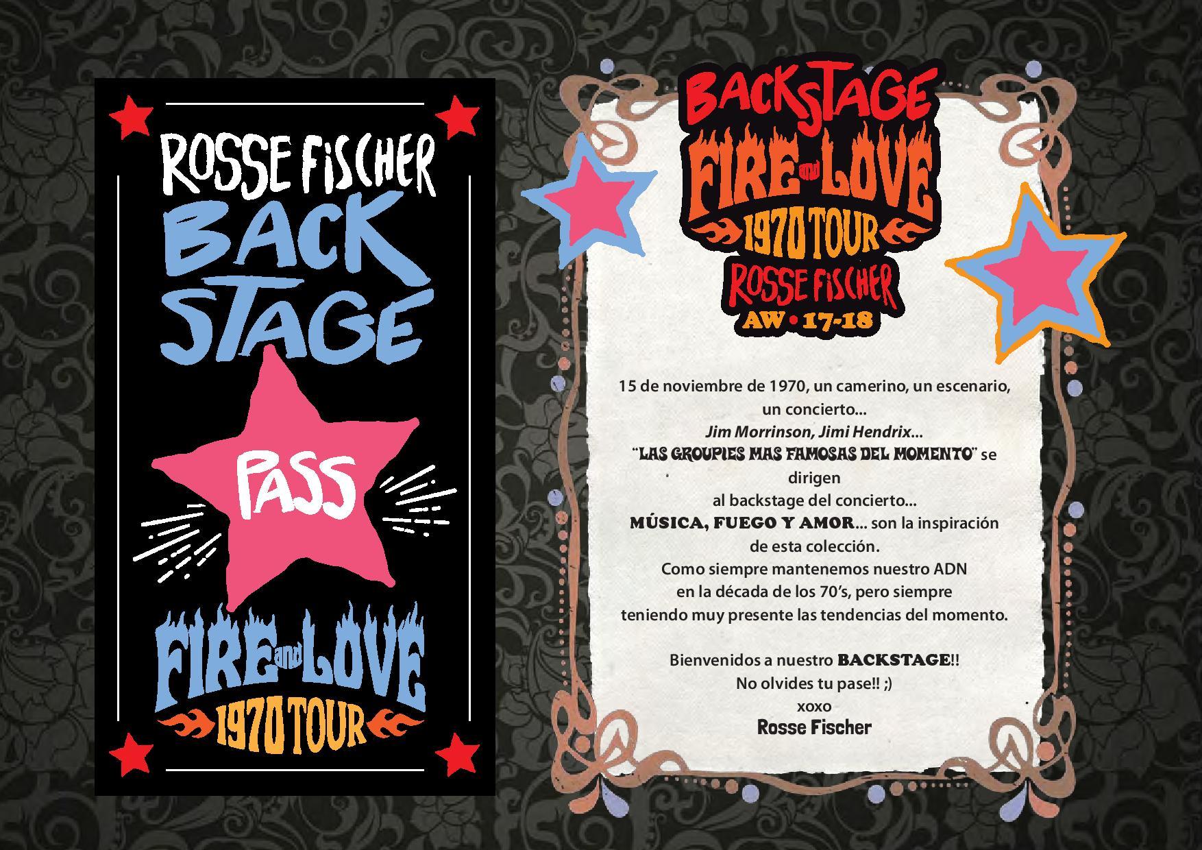 Lookbook Backstage