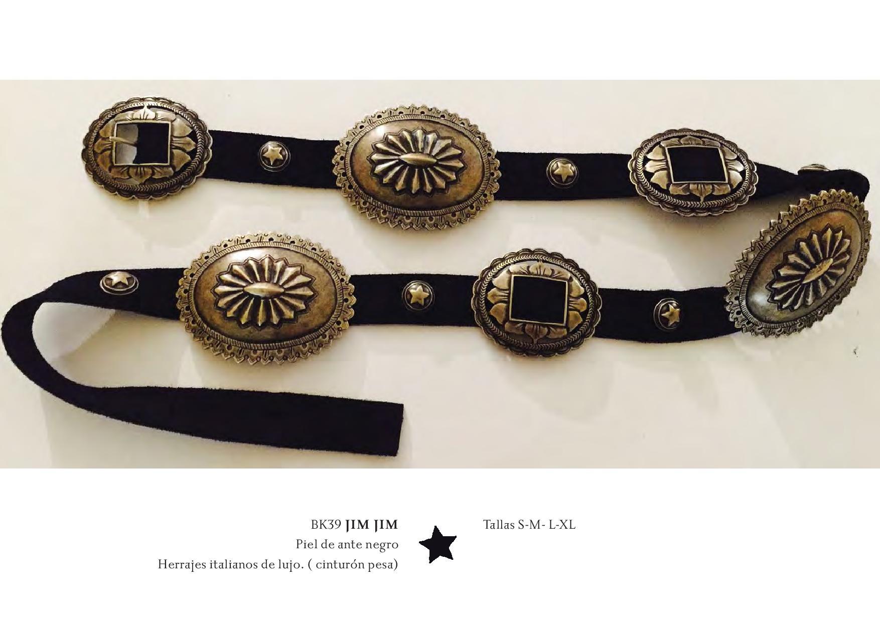 Lookbook Backstage belt