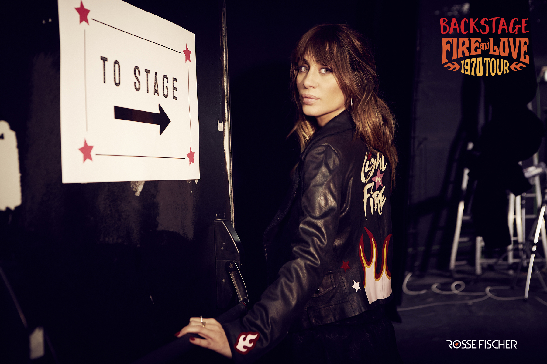 Campaign Backstage Fire and Love 1970 Tour Elena Tablada