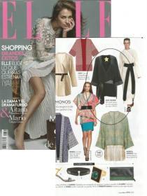 Kimono Pantera en la revista Elle