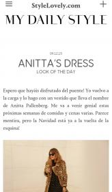 Anitta Pallenberg Dot Dress in Style Lovely