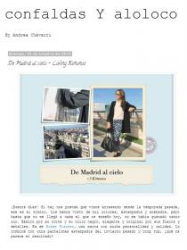 Rosse Fischer featured in the Blog Confaldas y Aloloco