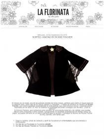 Competition Rosse Fischer Kimono by La Florinata