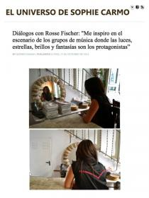 Interview of Rossana Gomez, owner of Rosse Fischer by Sophie Carmo