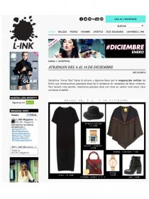 Rosse Fischer Military Cape featured in L-Ink Magazine